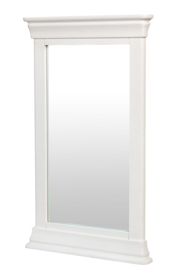 Toulouse White Painted Wall Mirror