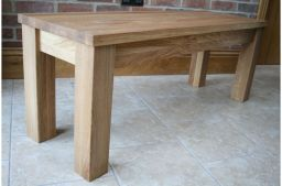 1.5m Baltic Premium Solid Oak Bench