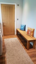 Baltic 180cm Large Solid Oak Dining Bench customer photo