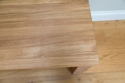 Baltic 200cm Long Large Solid European Oak Bench Standard Legs