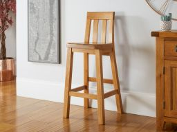 Billy Solid Oak Kitchen Bar Stool
