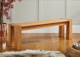 Cambridge 150cm Oak Dining Bench