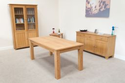 Caravella 180cm to 230cm 8 Seater Extending Oak Table