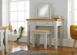 Cheshire Grey Painted Oak Dressing Table / Desk
