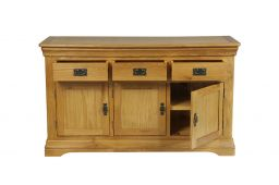 Farmhouse 140cm Oak Sideboard - NEW DESIGN