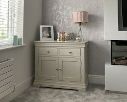 Toulouse Grey Painted 100cm Sideboard with Drawers - customer review photo