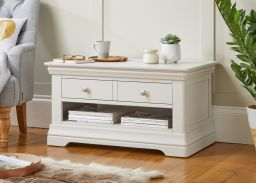 Toulouse Grey Painted Coffee Table 1 Drawer