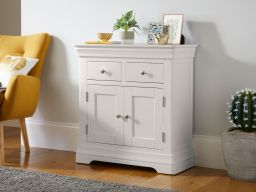Toulouse Grey Painted Small 80cm Sideboard in dining room
