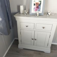 Toulouse Grey Painted Small 80cm Sideboard - customer photo 1