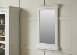 Toulouse Grey Painted 100cm Wall Mirror