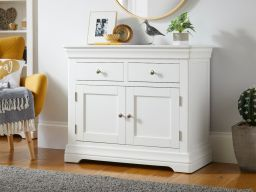 Toulouse 100cm White Painted Sideboard with Drawers