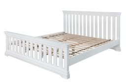 Toulouse White Painted 6'0 Super King Size Slatted Bed