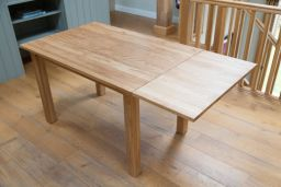 Solid European Oak Dining Table Minsk 120cm 6 Seater