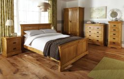 Oak bedroom furniture farmhouse country oak range - Top Furniture
