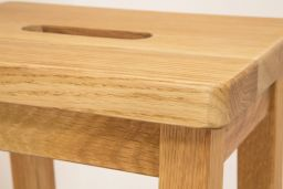 Refectory Solid Oak Bar Stool