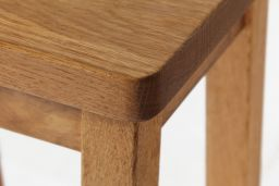 Refectory Solid Oak Kitchen Stool