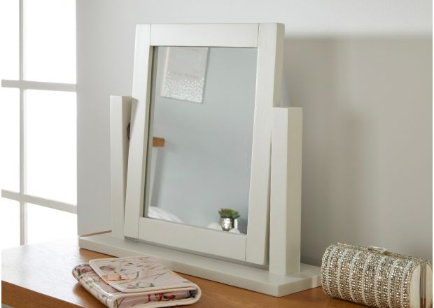 Cheshire Grey Painted Dressing Table Mirror