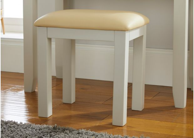 Cheshire Grey Painted Dressing Table Stool