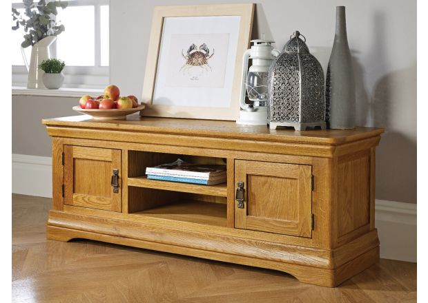 Farmhouse Large Oak TV Unit - WINTER SALE