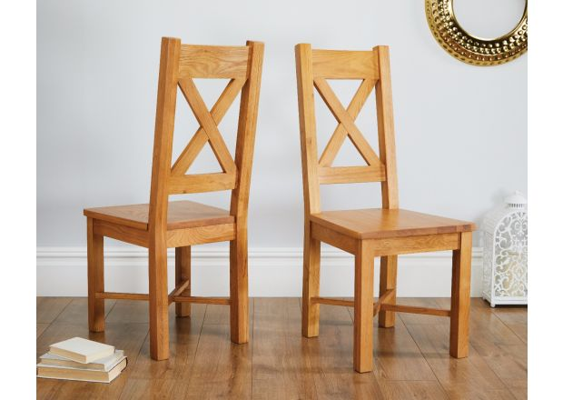 Grasmere Solid Oak Dining Chair - SUMMER SALE