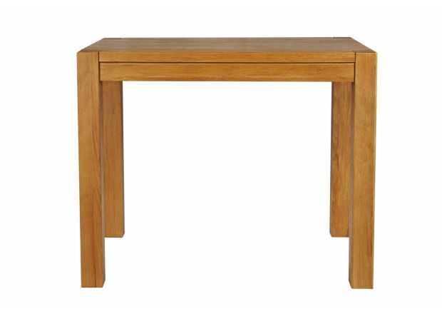 Country Oak 120cm X 80cm Tall Chunky Breakfast Bar Table - GET 10% OFF WITH CODE SAVE