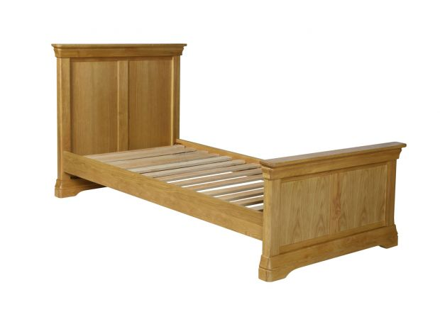 Farmhouse Country Oak 3 Foot Single Oak Bed - AUTUMN SALE