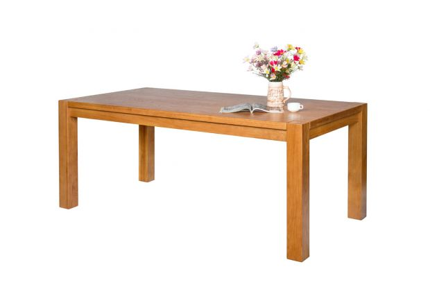 Country Oak 180cm Chunky Solid Oak Dining Table - AUTUMN SALE
