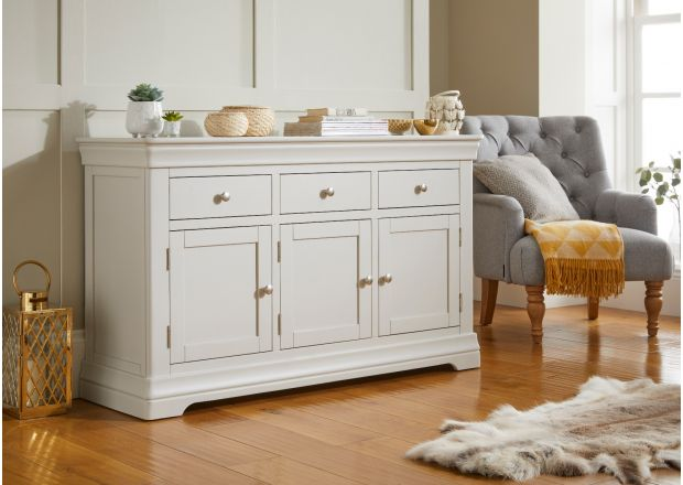 Toulouse Grey Painted Large 140cm Sideboard