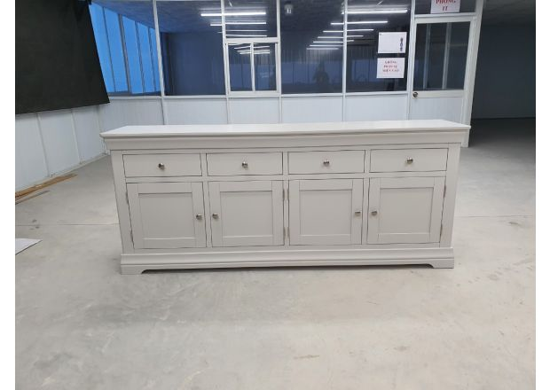Toulouse Grey Painted 200cm Large Sideboard