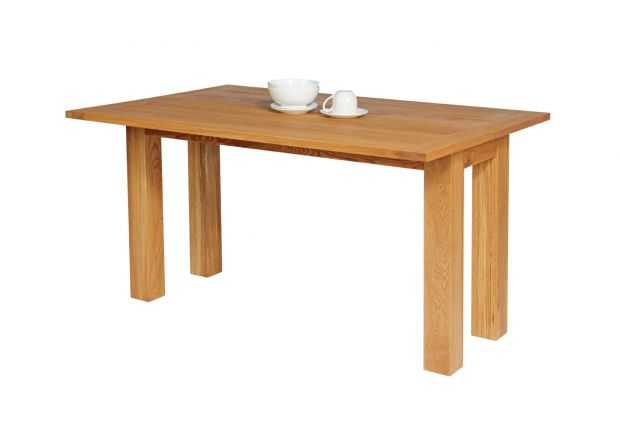 Lichfield Narrow Flip Top Oak Extending Table 140cm x 45cm - AUTUMN SALE