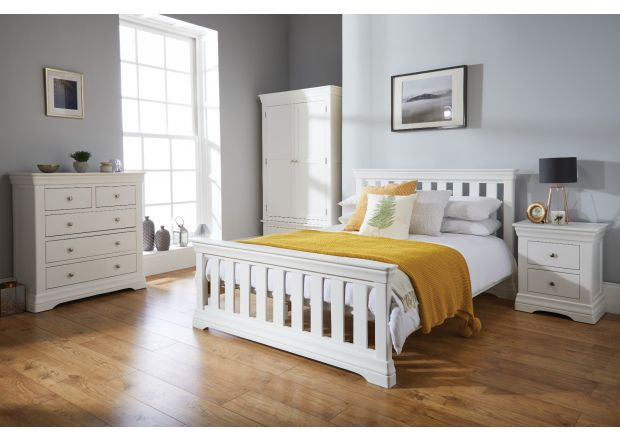 Toulouse grey painted bedroom furniture