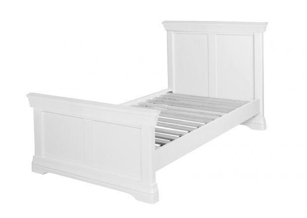 Toulouse White Painted 3 Foot Single Bed - AUTUMN SALE