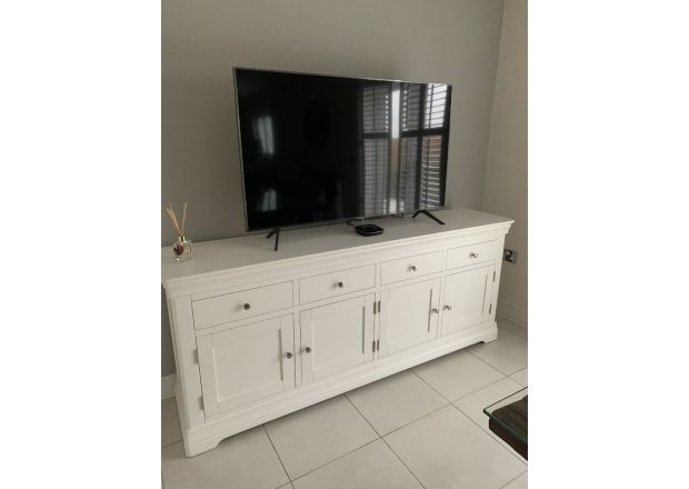 Toulouse 200cm Large White Painted Sideboard - customer photo