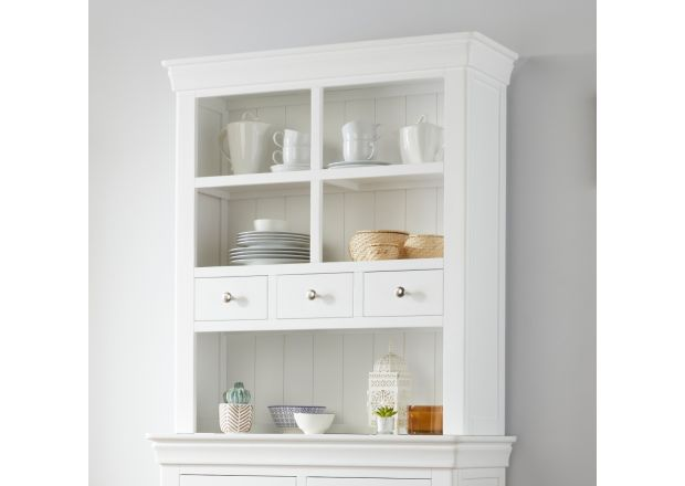Toulouse 100cm White Painted Hutch Unit