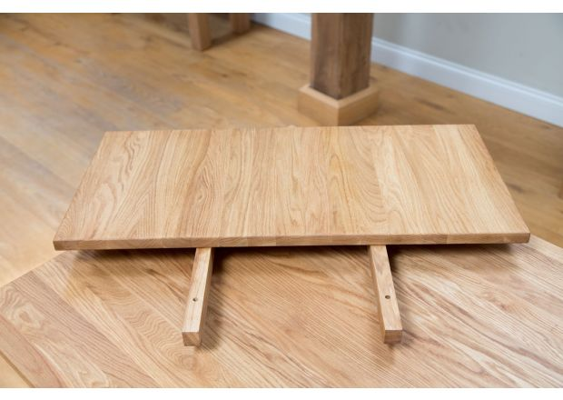 40cm Table End Extension For Minsk Oak Table