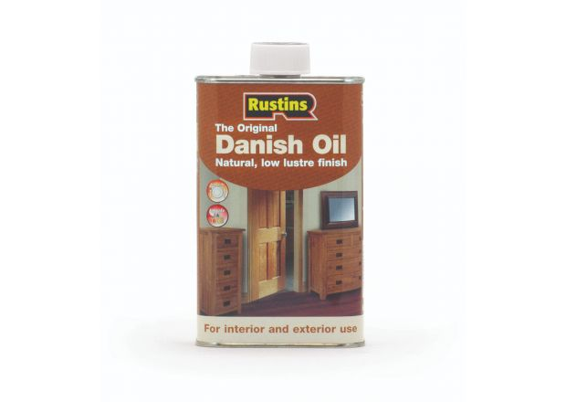 Rustins Danish Oil For Wooden Furniture Care, 500ml Tin - Free Delivery