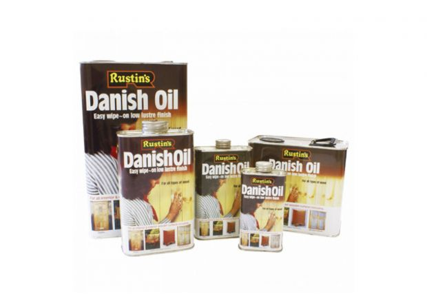 Rustins Danish Oil For Oak Dining Furniture, 500ml Tin