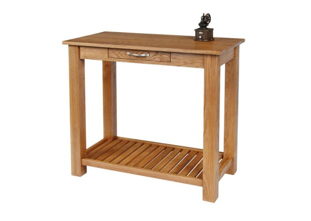 Tutbury Oak Breakfast Console Table - WINTER SALE