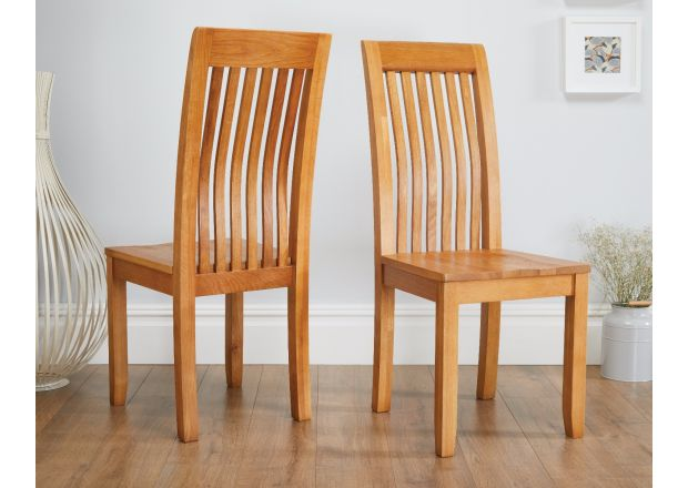 Westfield Solid Oak Dining Room Chair with Oak Seat - SUMMER SALE