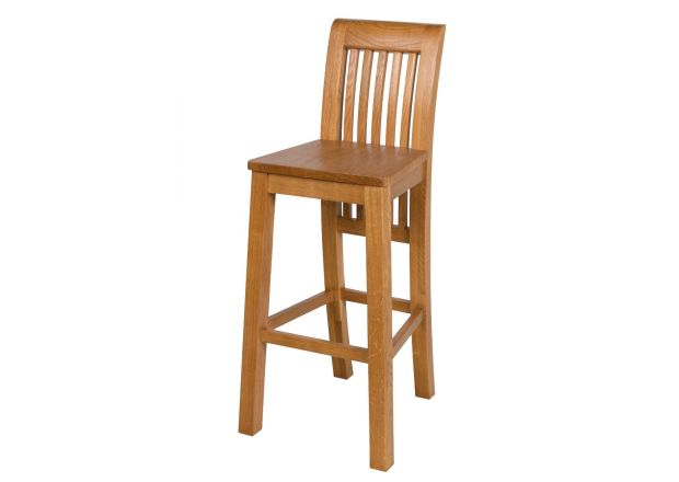 Westfield Oak Kitchen Stool with Oak Timber Seat - GET 20% OFF WITH CODE SPRINGDEAL