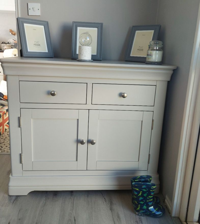 Toulouse Grey Painted 100cm Sideboard with Drawers - customer photo