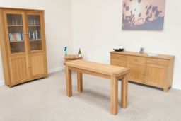 Lichfield Flip Top Small Dining Table 140cm x 45cm