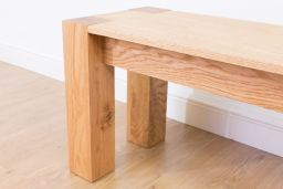Cambridge 180cm Large Oak Dining Bench