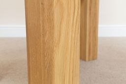 Cambridge 80cm x 80cm Small Square Oak Dining Table