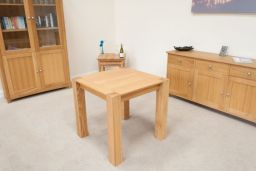 Cambridge Small Square Oak Dining Table