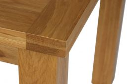 Country Oak 140cm 6 Seater Dining Table