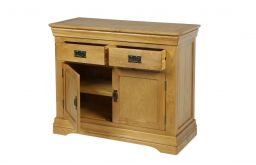 Farmhouse 100cm Oak Sideboard - NEW DESIGN