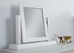 Toulouse Grey Painted Dressing Table Mirror