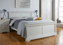 Toulouse Grey Painted Double Bed