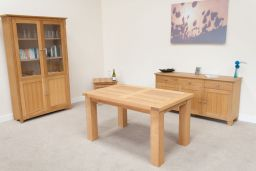 Riga 140cm Oak Dining Table